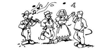 Un atelier de danse folklorique pour les enfants