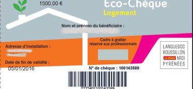 Économie d'énergie : éco-chèque logement