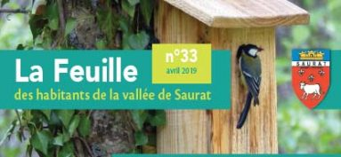 La Feuille d'avril 2019