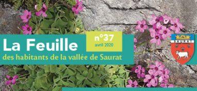 LA FEUILLE D'AVRIL 2020