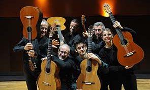 Six guitares en concert