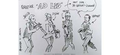 Concert du quatuor de saxophones Ad Lib